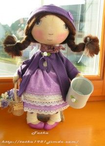 dolls with pattern