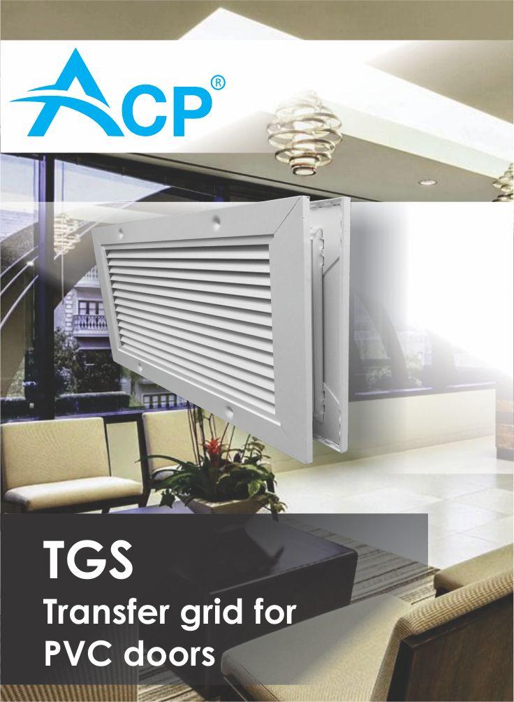 PVC transfer grid door TGS