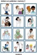 Memory Dokters en patienten - plaatjes