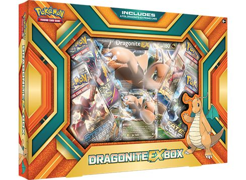 POKÉMON Dragonite EX-boks