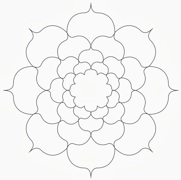 45 best Zentangle ideas & templates images on Pinterest