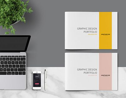 Graphic Design Portfolio Template This Is 40 Page Minimal Brochure For Designers Working On Product Portfolios Interior