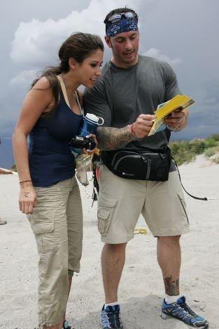 San Antonio's Vanessa Macias with boyfriend Ralph Kelley on The Amazing Race