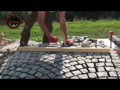 Naturstein Palisaden,Granit Palisaden,Naturstein Pflaster,Granit Pflaster - YouTube
