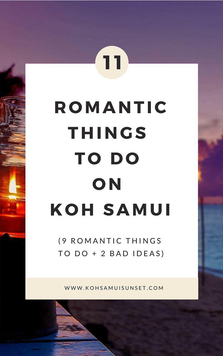 Romantic Things To Do On Koh Samui 11 Romantic Ideas Reisetipps