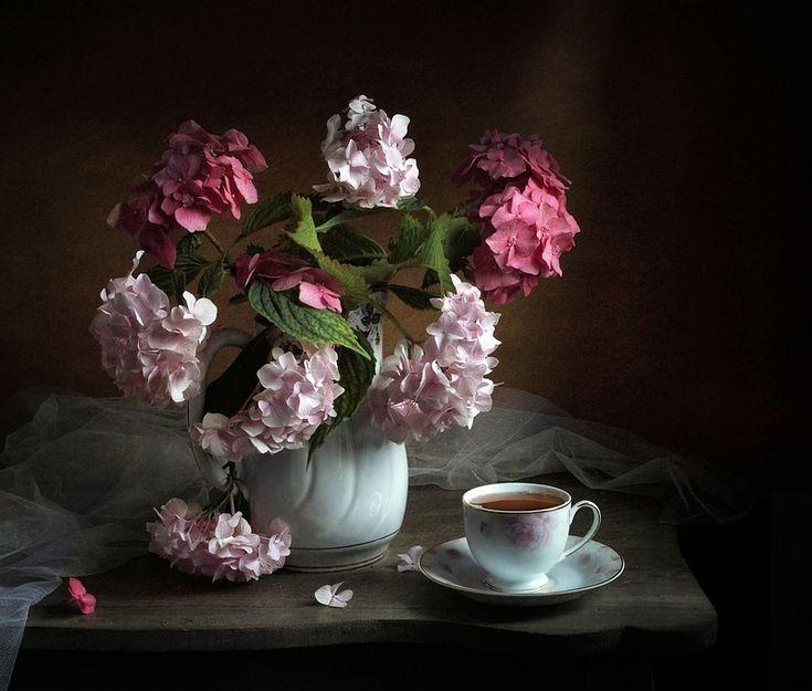 photo: С гортензией | photographer: Татьяна Еремеева | WWW.PHOTODOM.COM