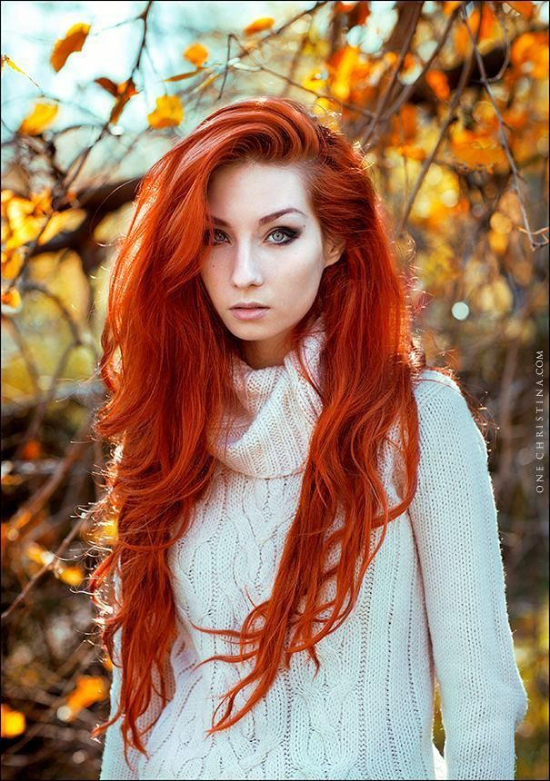 Omg I love this hair the color the length I need it nao! Red Hair Color,