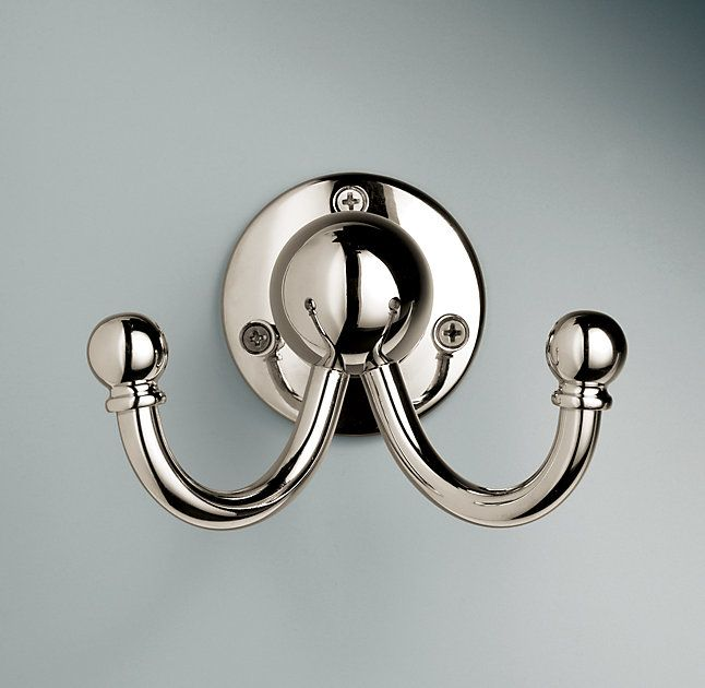 Rh S Vintage Hook Baronial In Stature Our Collection Celebrates Form As Cubbies Pinterest Hooks Entry Hall And House