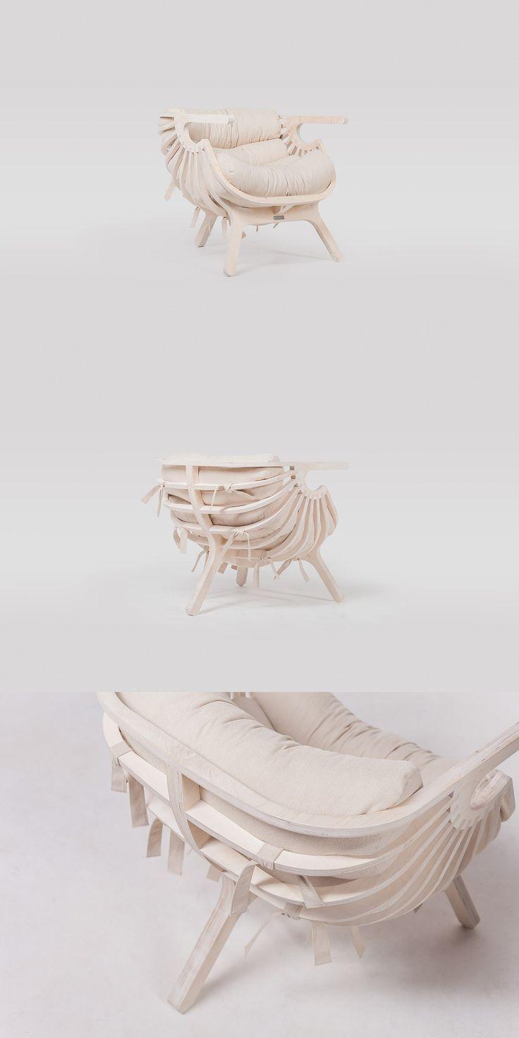 Реплика кресла-ракушки Branca Lisboa. Работа Coolhaus. Shell Chair Branca Lisboa by Coolhaus  Siberia. Krasnoyarsk. #craftup_furniture