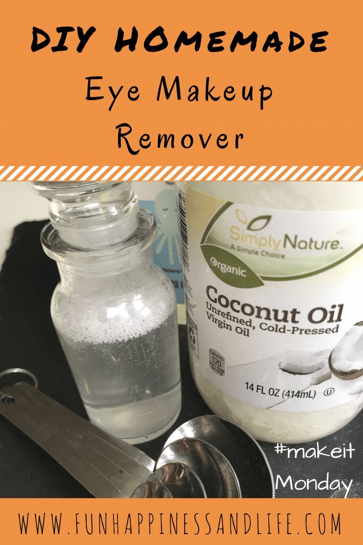 DIY Homemade eye makeup remover is a frugal way to win at skin care. Easy to make from simple ingredients and great for your eyes.