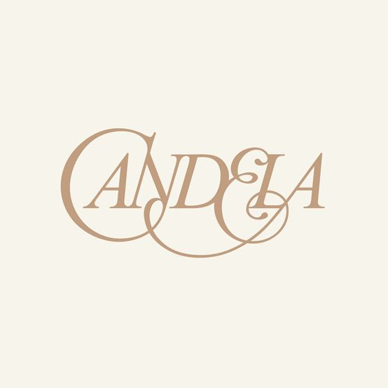 Logotype designed by RoAndCo for footwear and fashion brand Candela