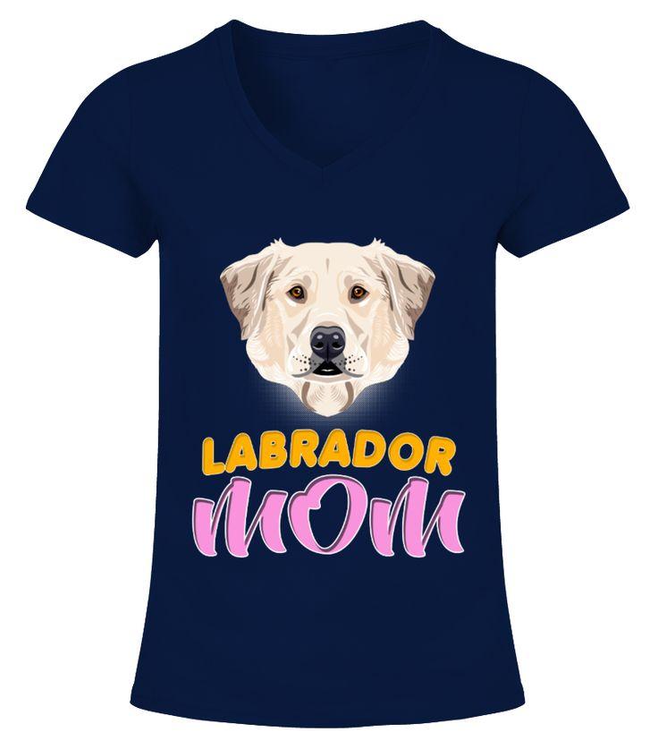 Labrador Dog Breed Mom  Funny Labrador T-shirt, Best Labrador T-shirt