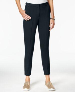 Armani Exchange Straight-Leg Trousers - Blue 10