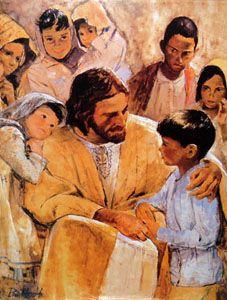 1970s jesus and children