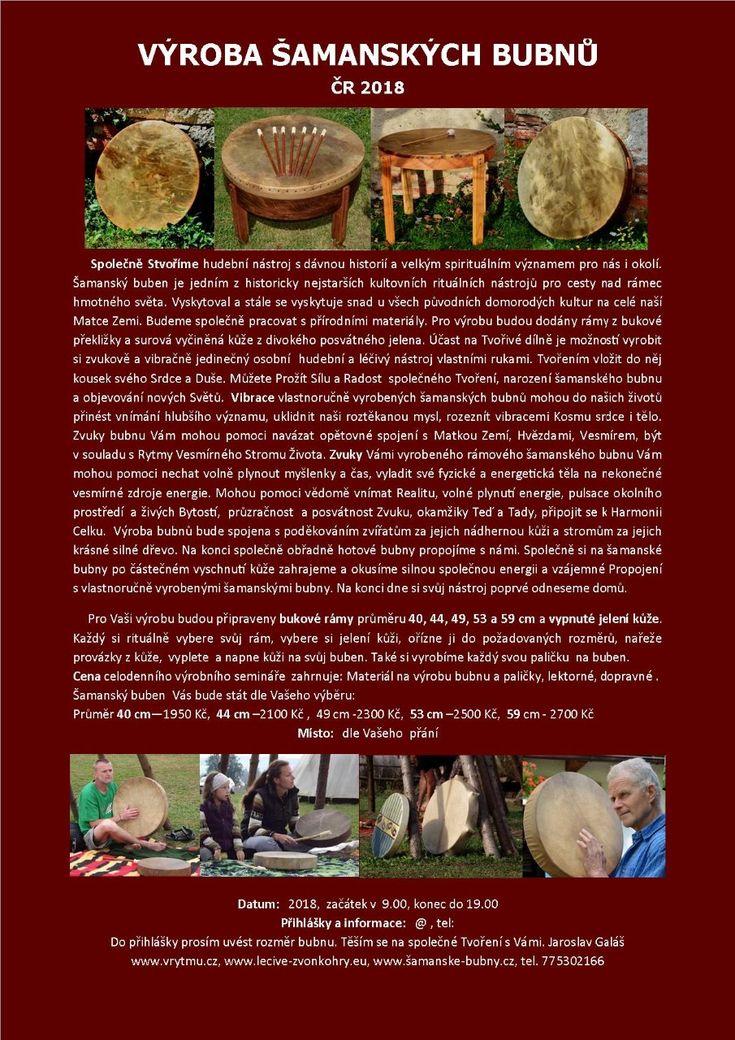 Výroba Šamanských bubnů