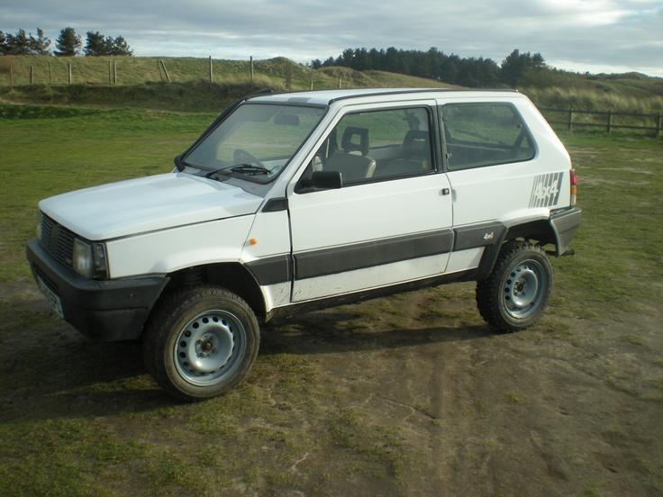 Raised Fiat Panda 4x4