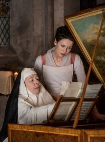 """Love that Diana Gabaldon had JS Bach sending music to Mother Hildegarde, and how nonchalant Claire is about """"knowing"""" him. Such fun!"""