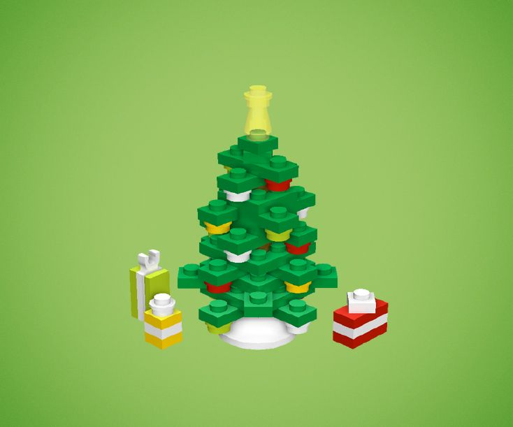 Chris Mcveigh a créé ces décorations de Noël en Lego et a mis sur son site la liste des pièces et toutes les instructions en pdf pour les fabriquer soit-même.