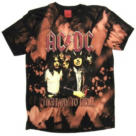 AC/DC: Highway To Hell (tricou decolorat)