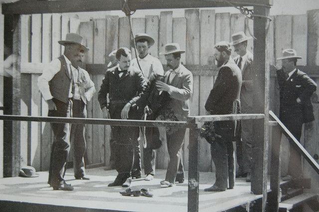 The Hanging of James Fleming Parker in Prescott, Arizona on June 8, 1898