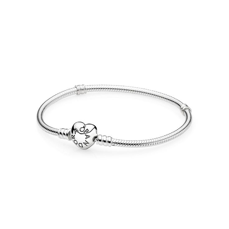 Sterling silver wheart clasp, Silver bracelet with heart-shaped clasp, CA$52.98 18% OFF, Buy Now: http://www.pandoracanada2013.com/pandora-bracelet-sale.html