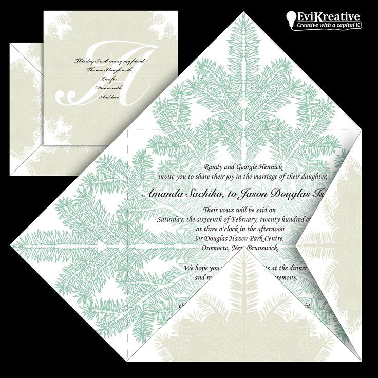 Wedding Stationary – Design / Illustration / Layout – for Jason and Amanda Israel. http://www.evikreative.com/israel-wedding-stationary/