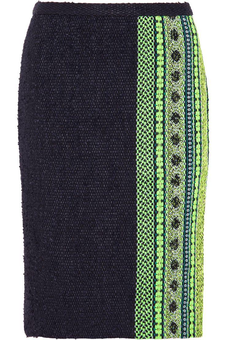 Collection bouclé-tweed pencil skirt   J.Crew   THE OUTNET