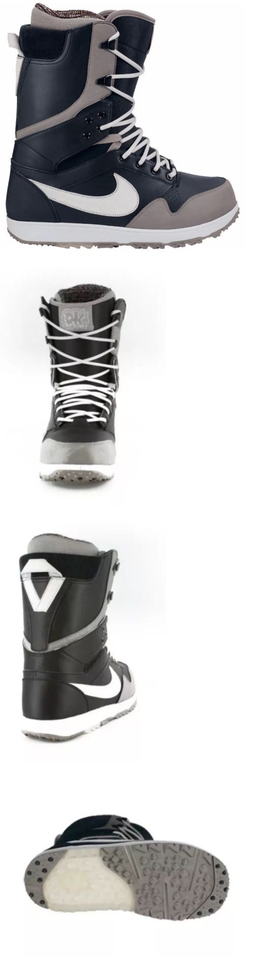 Boots 36292: New Nike Zoom Danny Kass Snowboard Mens Boots Black Gray Size 10 -> BUY IT NOW ONLY: $229.99 on eBay!