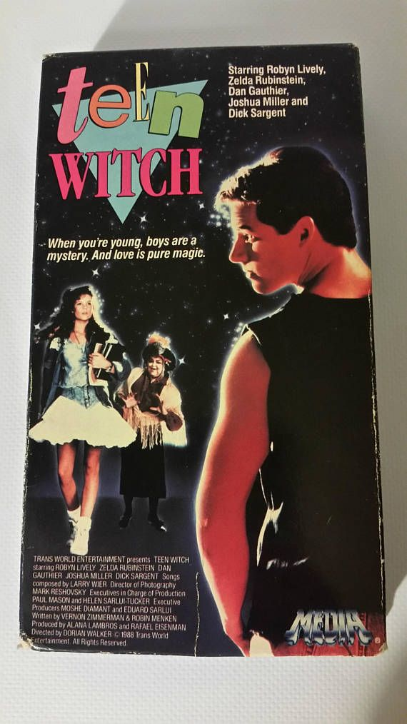 Vintage VHS - TEEN WITCH 1989 #topthat #teenwitch #80smovies #80skid #vtg #vhs #80steen #80sfashion #retro #moviequotes