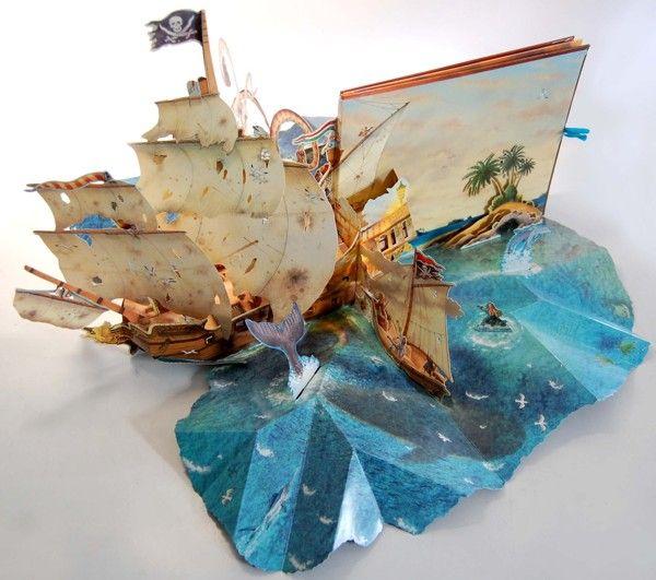 Pop-Up Pirate Ship on Behance