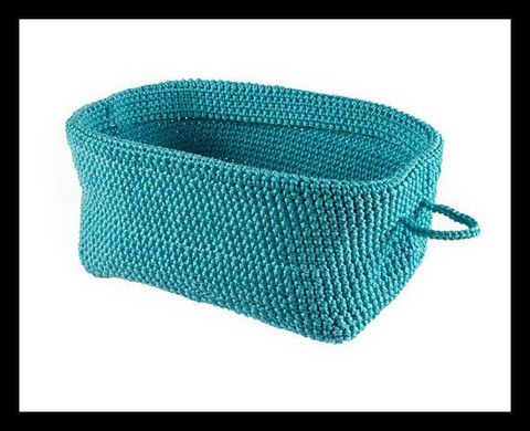 Crotchet Storage Basket