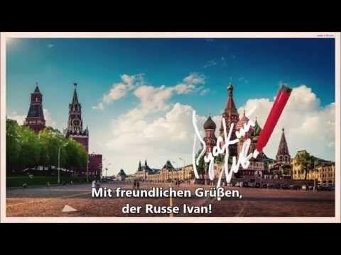 Russland spricht zu Deutschland: Wir sind nicht deine Feinde!