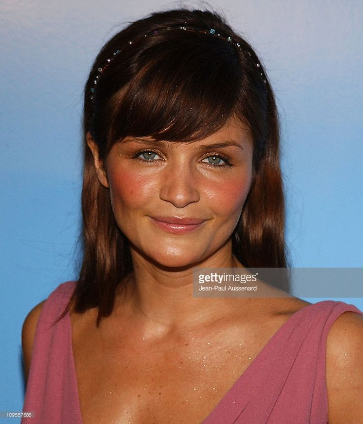 Helena Christensen during Helena Christensen and Michel Comte Host Gala to Benefit the Michel Comte Foundation - Arrivals at Ace Gallery in Beverly Hills, California, United States.