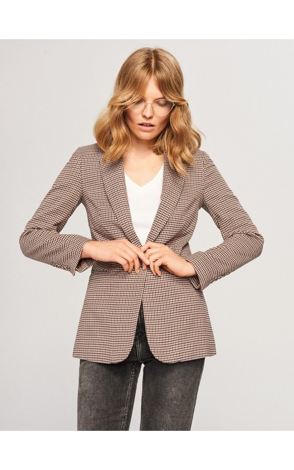 Zakiet W Pepitke Marynarki Wielobarwn Reserved Women S Blazer Blazer Fashion