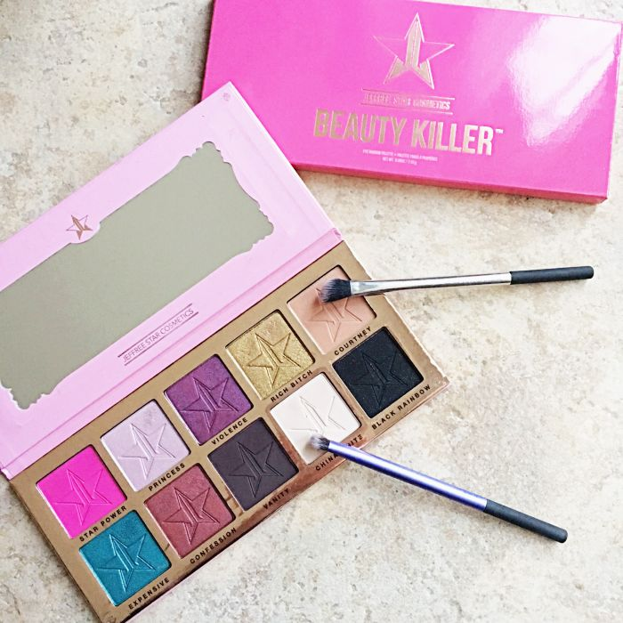 Check out my review and the looks I created with the Jeffree Star Beauty Killer palette, over on the blog!