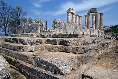 The Temple ofZeus in Nemea, Korinth