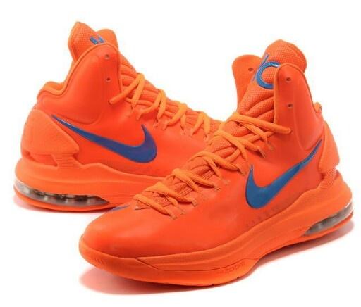 buy popular 79389 880a7 buy 2013 nike zoom kd v shoes creamsicle team orange blue 554988 100 74e3a  1bf3d