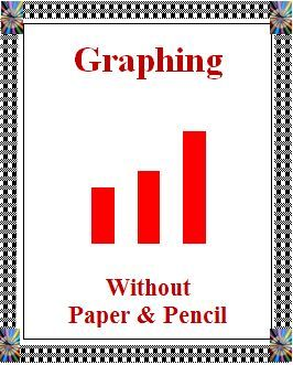 """This 15 page resource defines graphing vocabulary, presents and explains several kinds of graphs (pictorial, line, bar and circle) and provides unique ways for your students to graph. Most of the ideas for graphing use """"real"""" items such as clothespins or snap cubes. It explains graphing and gives ideas of how to easily gather and graph information, make comparisons of the data and correctly interpret the data using graphs made from common, ordinary items."""