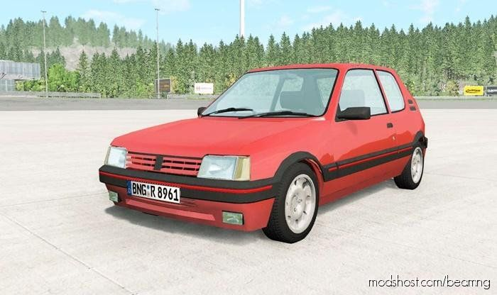 Download Peugeot 205 Gti For Beamng Drive In 2020 With Images