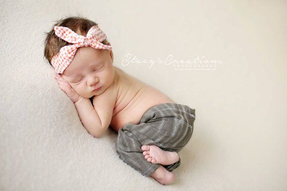 Newborn denim jegging  in distressed mocha by JazzCraftBoutique