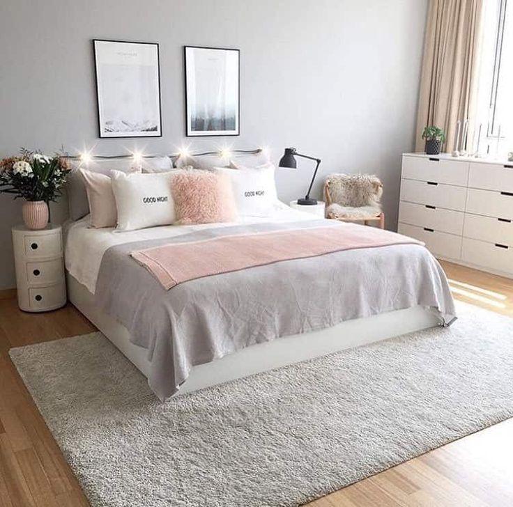 chambre ado fille moderne style scandinave deco interieur. Black Bedroom Furniture Sets. Home Design Ideas
