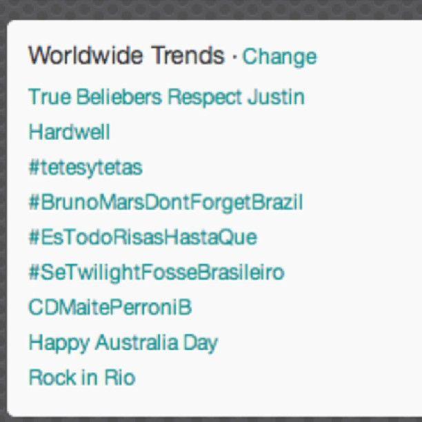 Hardwell was trending worldwide on Jan 26th 2013. #trending #mrk634