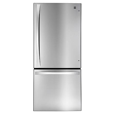Kenmore Elite 22.1 cu. ft. Bottom-Freezer Refrigerator – Stainless Steel