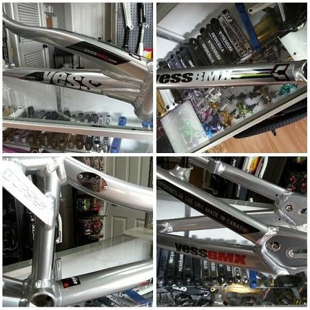YESS LP65 Race Frame - Liam Phillips