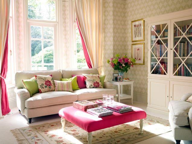 Feminine living room decor ideas pinterest - Feminine living room design ideas ...