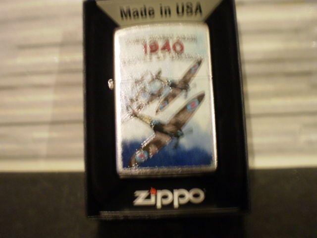 Zippo  Lighter Themed Battle Of Britain 1940