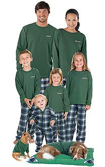 I know this seems silly, but we r totally doing this. All Family Pajama Sets - PJs for the whole family   PajamaGram