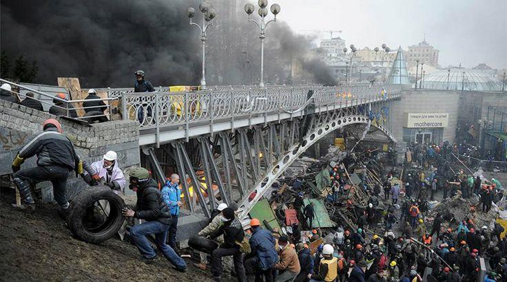 Αιματοχυσία δίχως τέλος στο Κίεβο: 67 νεκροί από την Τρίτη!