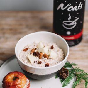 Noats Porridge Bratapfel für die Füllung