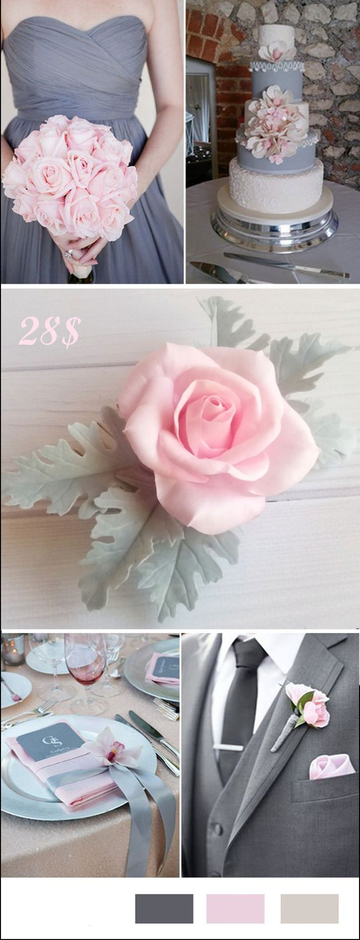 Wedding Flower hair accessories Bridal Floral hairpiece Blush pink floral headpiece Dusty rose head piece Wildflower comb Boho bridal piece   28$ #Dusty #rose #comb #Wedding #Flower #hairpiece   #Blush #pink #floral